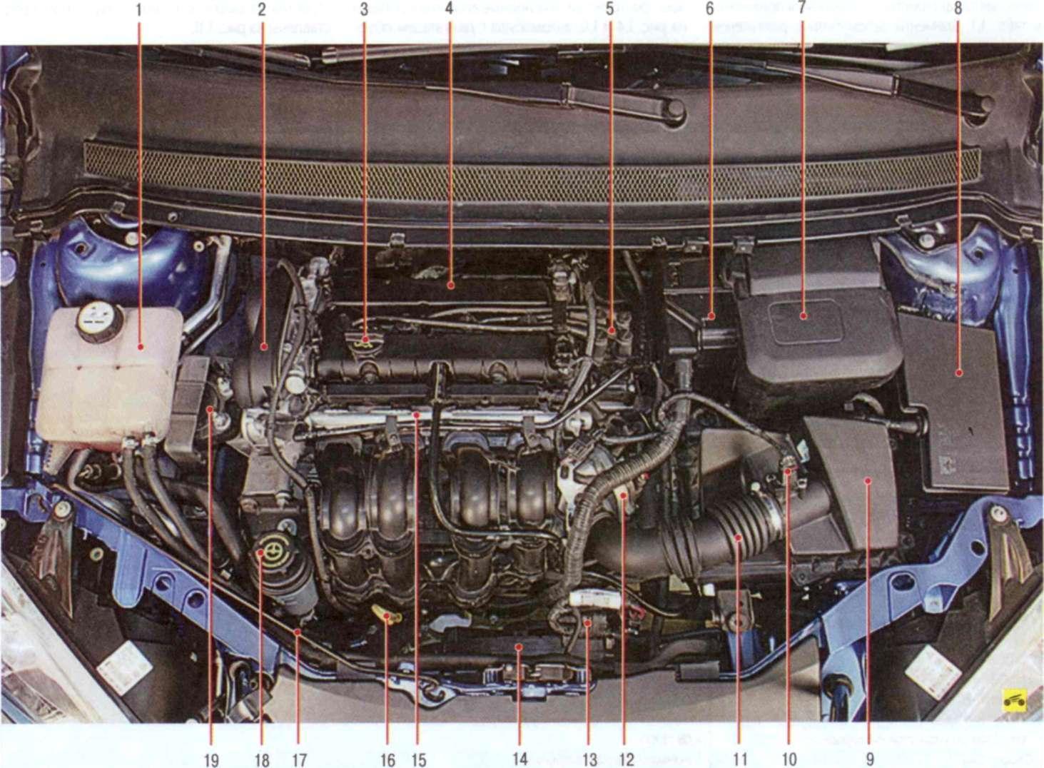 Форд 1.8 замена грм