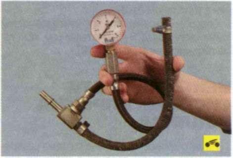Фото №5 - проверка давления в топливной рампе ВАЗ 2110