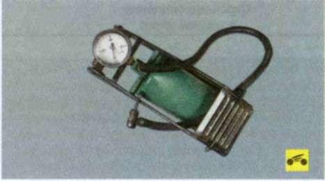 Рекомендуем пользоваться ножным насосом со встроенным манометром.  Вам потребуются.