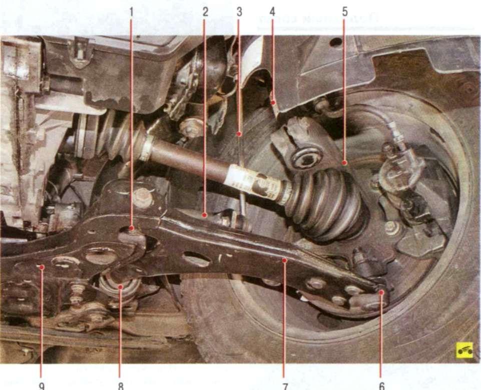 Проверка ходовой форд фокус своими руками 87