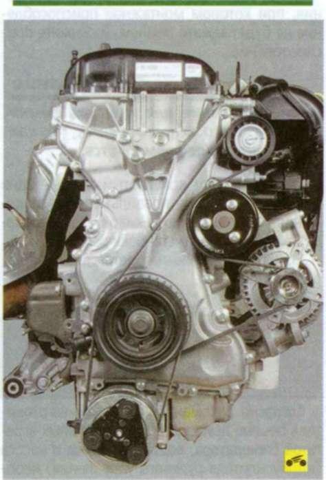 двигателе ремень привода