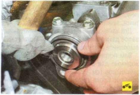Как снять генератор на лада калина