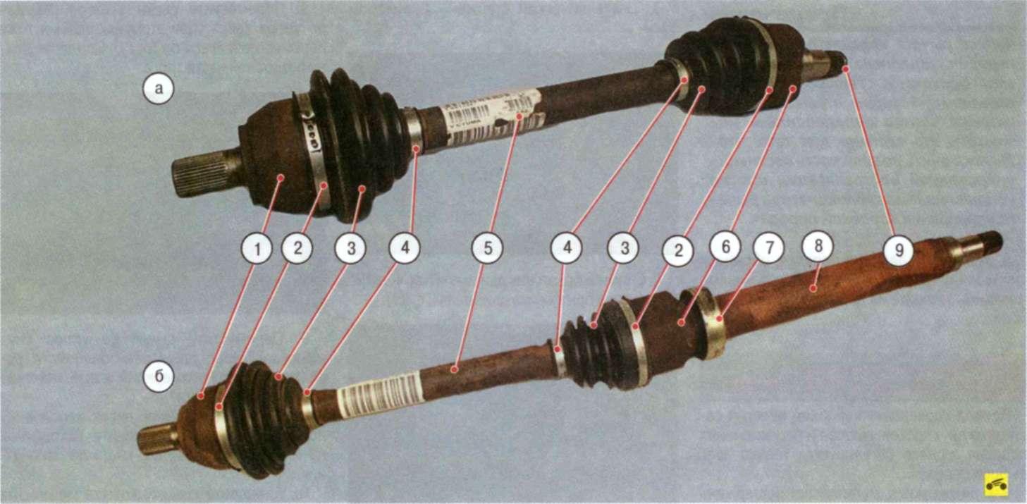 Ремкомплект внутреннего шруса на форд транзит 7 фотография