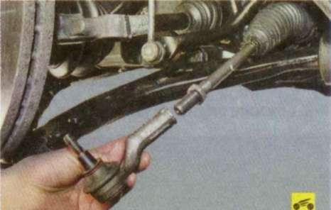 Своими руками замена рулевого наконечника форд фокус 2