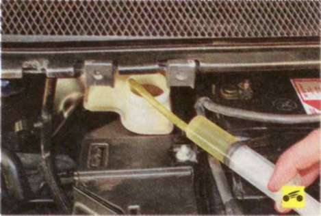 Замена тормозной жидкости на форд фокусе 2 2