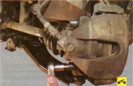 Тормозные механизмы передних колес - Форд Фокус 2.
