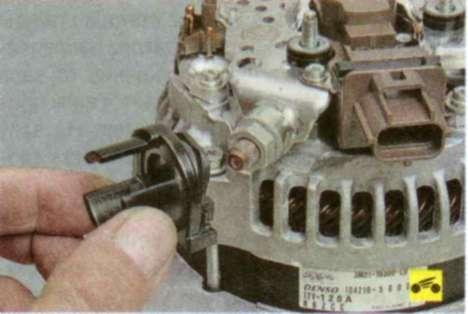 Генератор форд фокус 1 ремонт своими руками видео