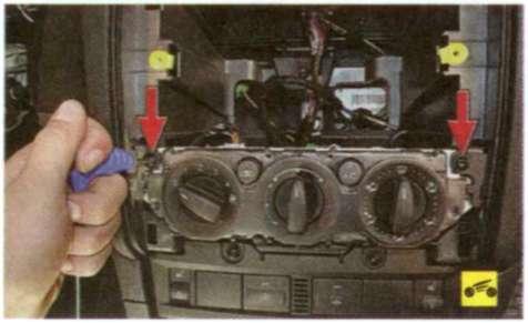 сломался переключатель положения печки ford s-max