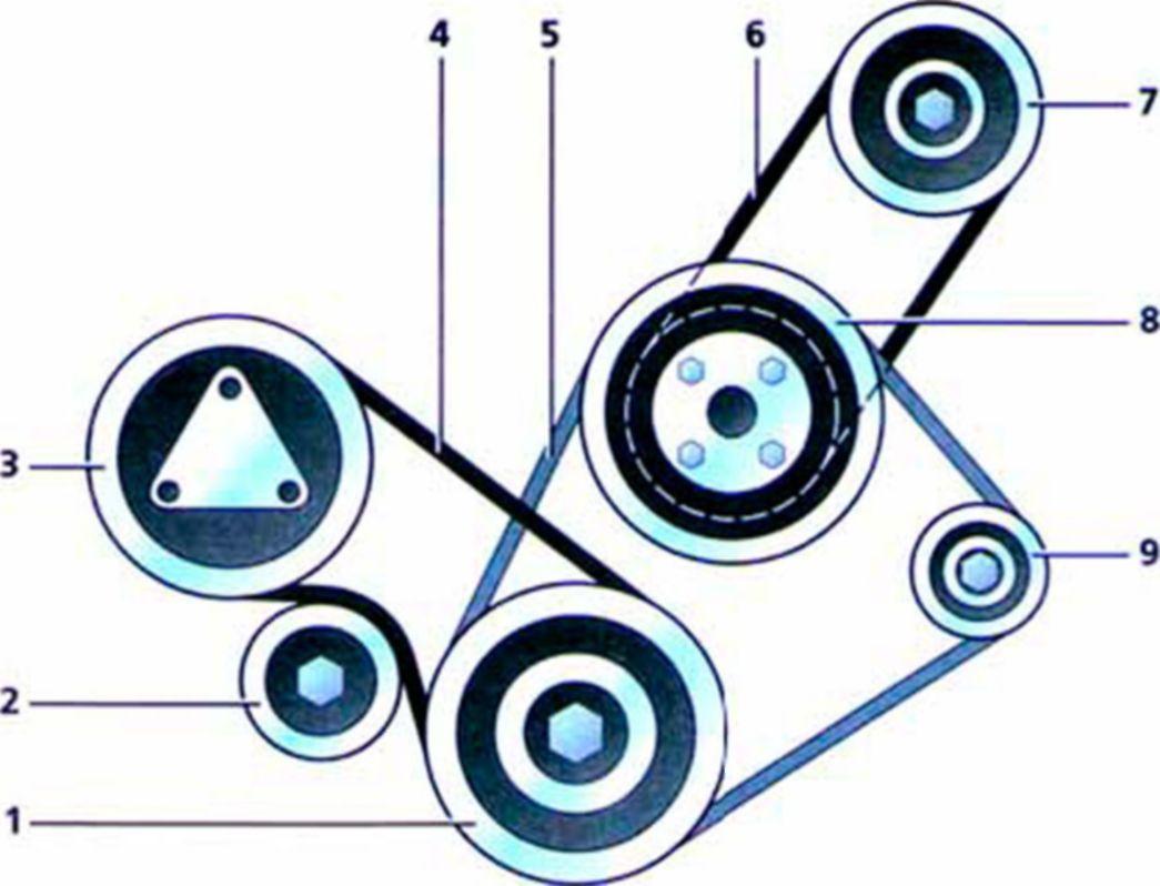 Описание конструкции двигателя автомобиля Hyundai Accent.