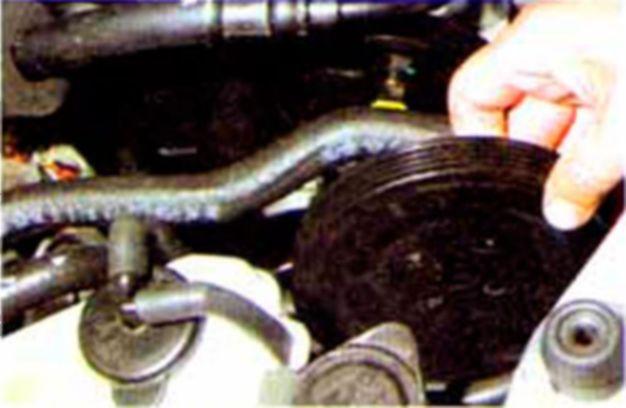 Замена ремня грм акцент 16 клапанов
