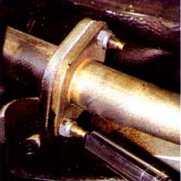 Система выпуска отработавших газов Hyundai Accent (Хендай Акцент) катализатор.