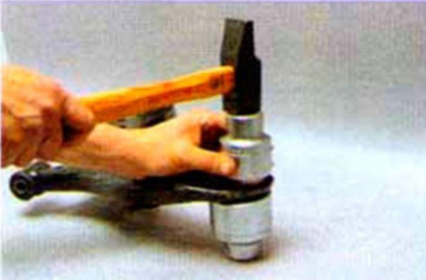Замена шаровой опоры на хендай акцент своими руками видео