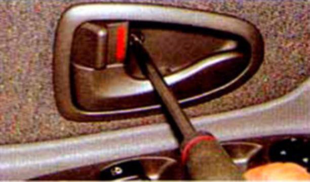 Как заменить ручку двери на хендай акцент