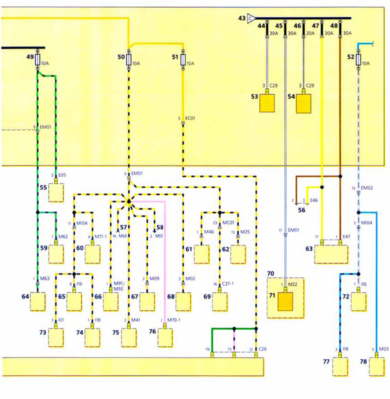 Схема электрооборудования головного света хендай акцент