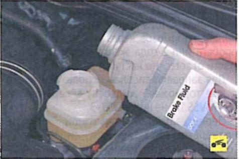 Регулировка привода стояночного тормоза - Мицубиси Лансер 9 (Mitsubishi Lancer)