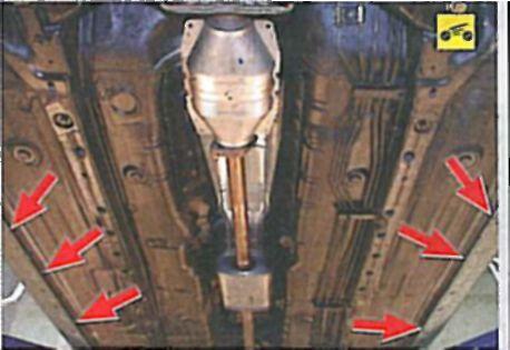 Свечи лансер 9 где находятся