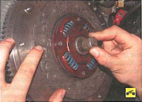 Замена сцепления на митсубиси аутлендер своими руками