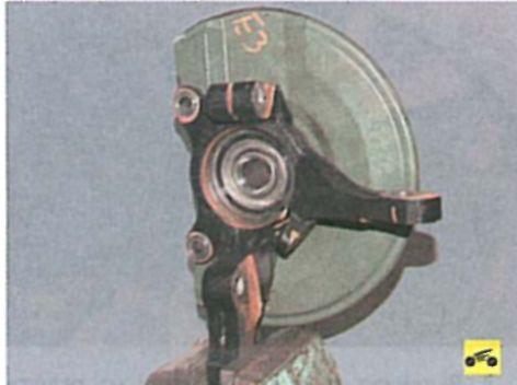 Замена переднего подшипника на лансере 9