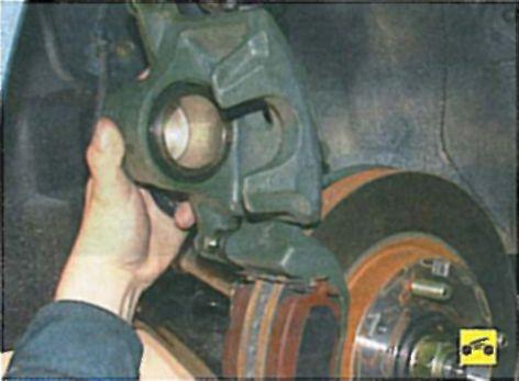 Ремонт суппорта мицубиси лансер 9 своими руками