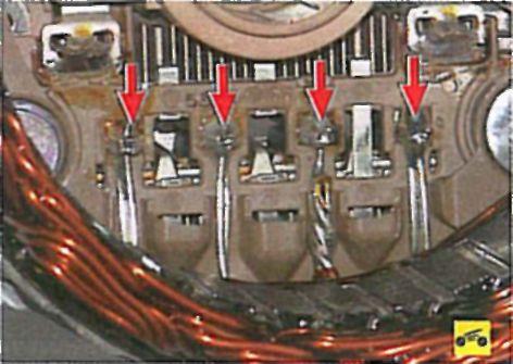 Замена генератора мицубиси лансер 9