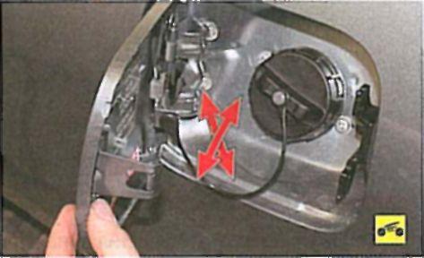 Снятие и установка задней двери - Мицубиси Лансер 9 (Mitsubishi Lancer)