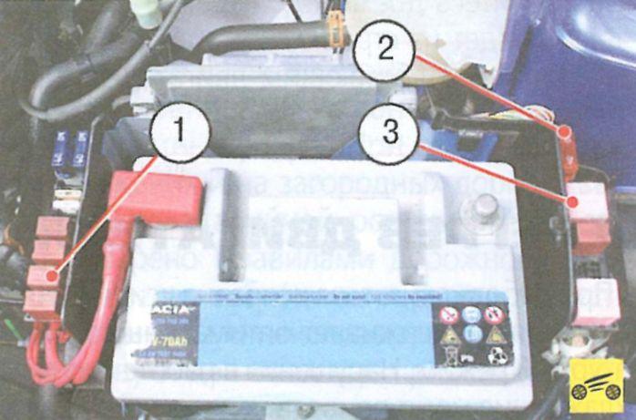 Аккумуляторная батарея не подзаряжается - Рено логан