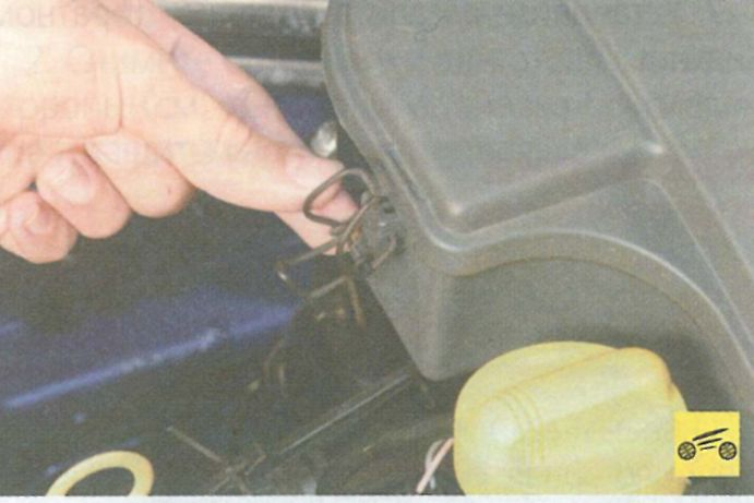 Замена воздушного фильтра на рено логан своими руками
