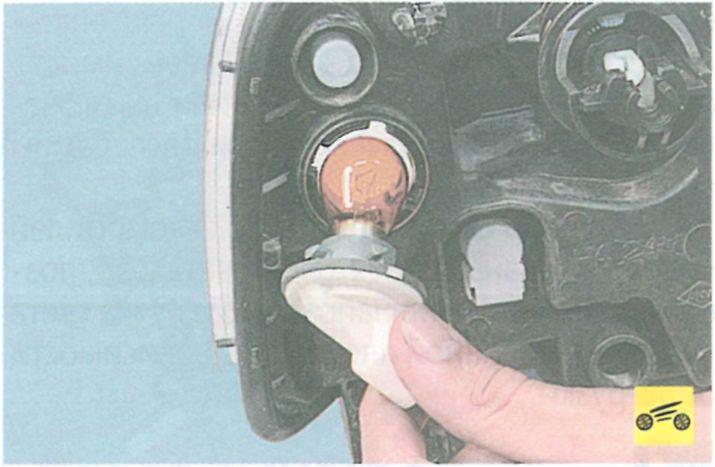 Как заменить лампу габарита на логане - Корпоративный портал