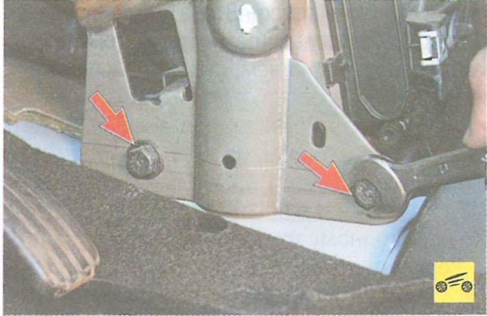 Снять радиатор печки рено логан