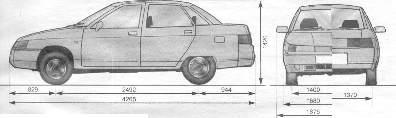 Фото №13 - ВАЗ 2110 технические характеристики