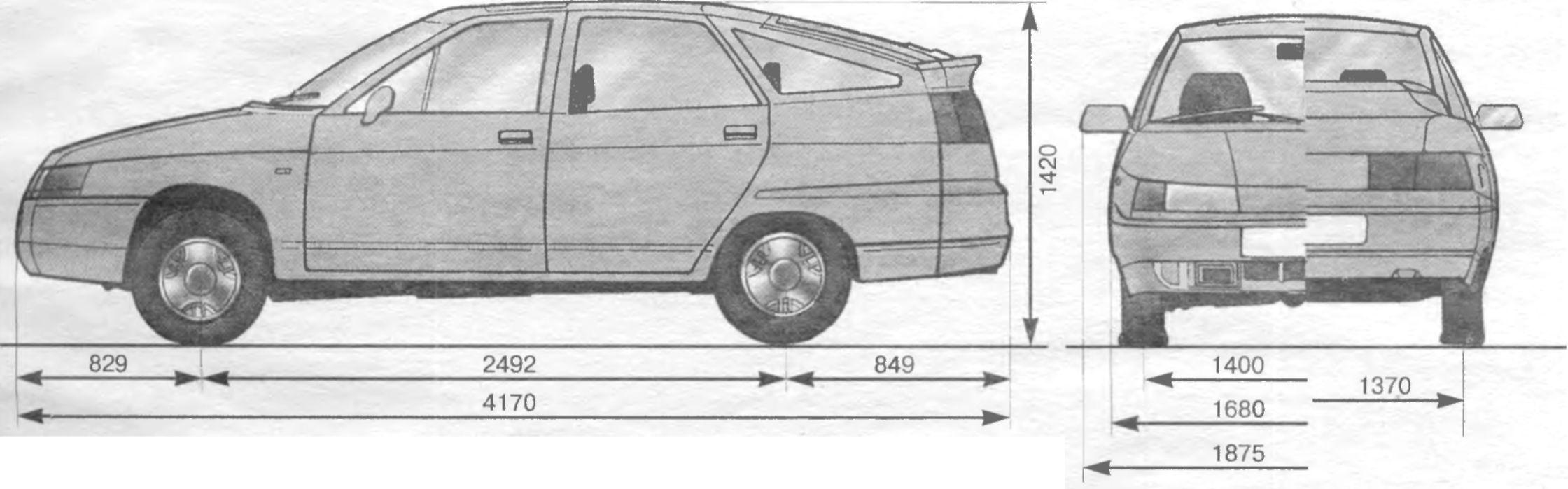 Фото №10 - ВАЗ 2110 технические характеристики