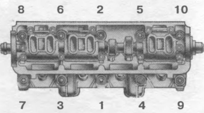 Фото №12 - порядок затяжки головки ВАЗ 2110