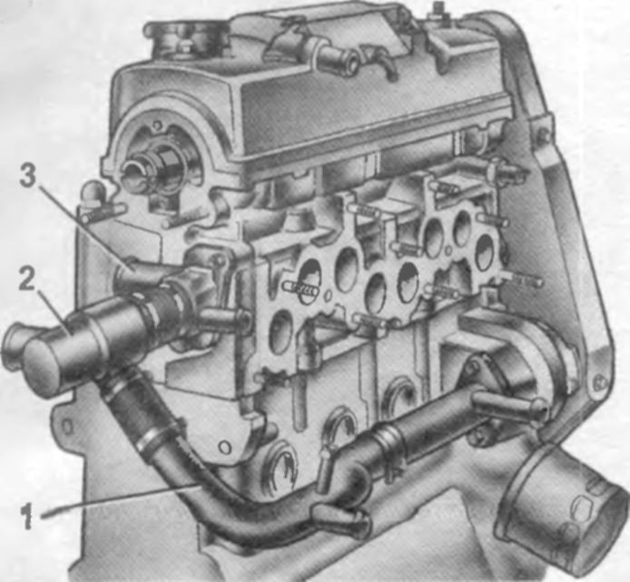 После ремонта двигателя