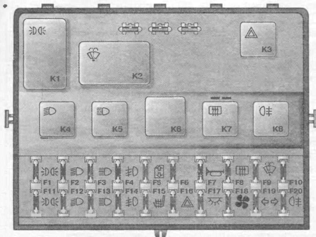 со звуковым сигнализатором. схему. приборов. электронную. на ВАЗ 2110 (391.3722) КалугаБлок индикации...