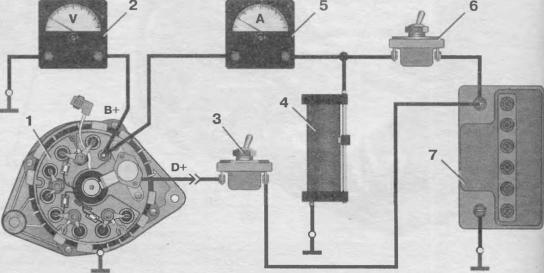 фото схема устройства стартера ваз 2107