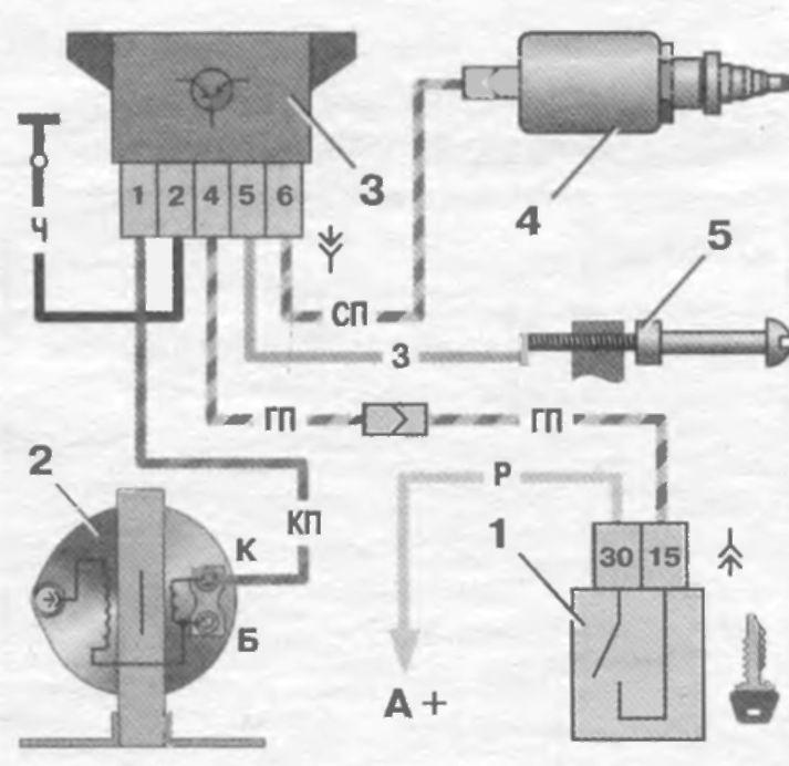 Схема подключения датчика холостого хода на карбюраторе