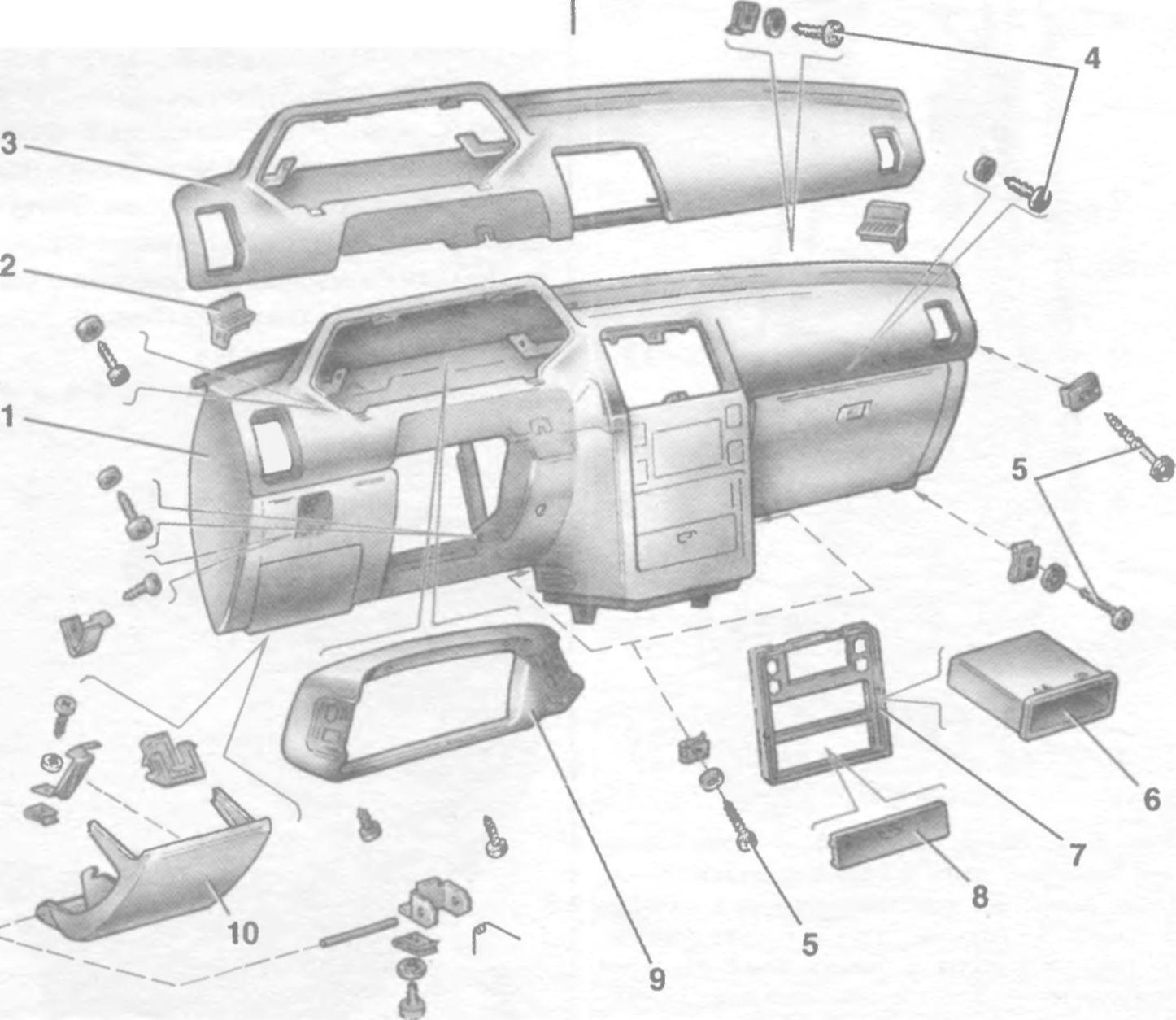 принципиальная схема монтажного блока 2114-3722010-60